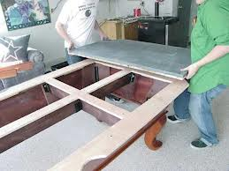 Pool table moves in Corry Pennsylvania